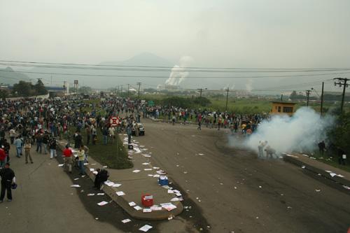 Manifestação contra Insegurança na Usiminas
