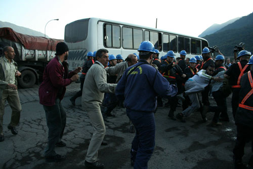 Manifestação por segurança