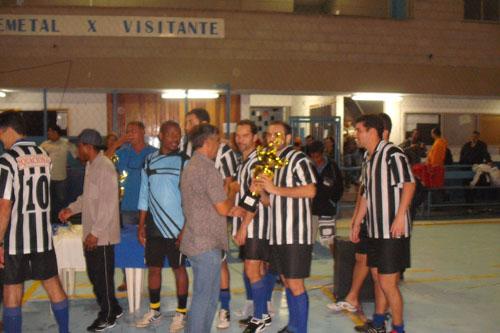 Fotos da final da Copa de Futsal dos Metalúrgicos
