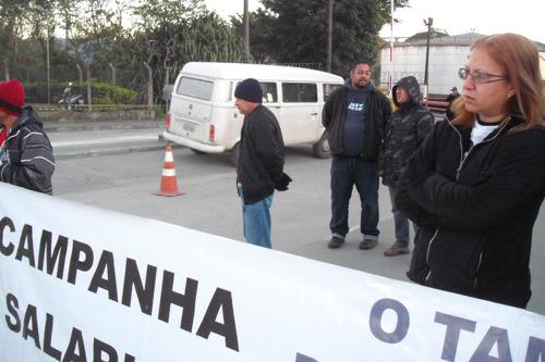 Paralisação na Transpetro em solidariedade aos trabalhadores da TQM Service