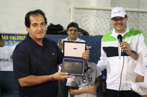 Fotos da abertura da 12ª Copa Gremetal de Futsal