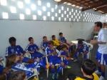 Categoria Sub - 13: Após derrota do jogo, trabalho de motivação aos atletas do Gremetal
