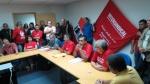Sindicato e Intersindical ocupam Ministério do Trabalho denunciando a grave situação dentro da usina