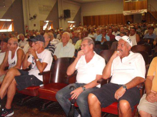 Assembleia dos aposentados da Cosipa contra reajuste no Plano de Saúde