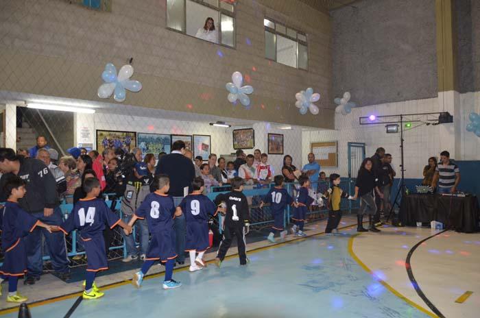 Fotos da Abertura da 14° Copa Gremetal de Futsal