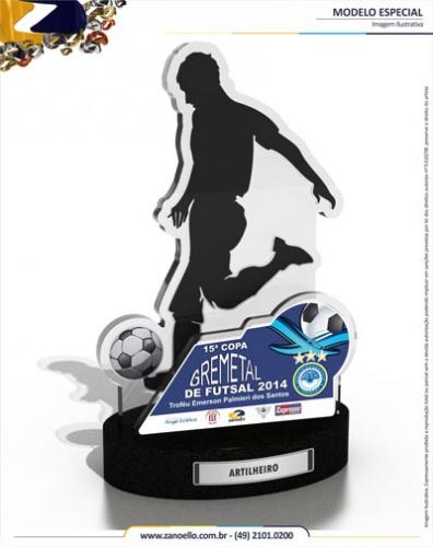 Premiação da  15ª Copa Gremetal de Futsal