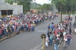 Fotos da manifestação na Usiminas por melhores condições de trabalho