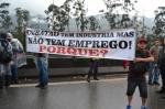 Fotos da paralisação em Cubatão