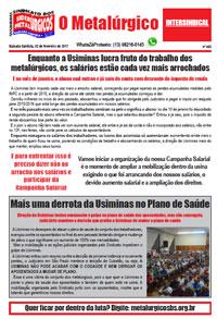 O Metalúrgico #452 (02/02/2017)