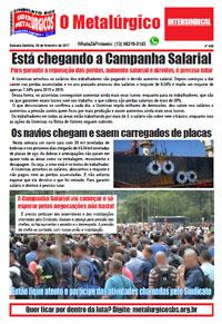 O Metalúrgico #453 (09/02/2017)
