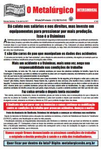 O Metalúrgico #462 (13/04/2017)