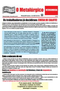 O Metalúrgico #472 (06/07/2017)