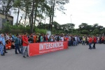 Manifestação dos trabalhadores da Alpitec em Cubatão