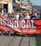 Metalúrgicos aposentados da Baixada Santista juntos com o Sindicato na luta contra os ataques da Usiminas
