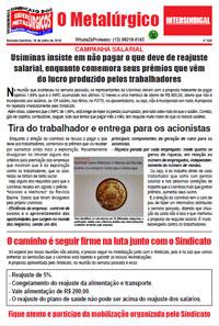 O Metalúrgico #525 (19/07/2018)