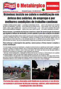 O Metalúrgico #524 (12/07/2018)