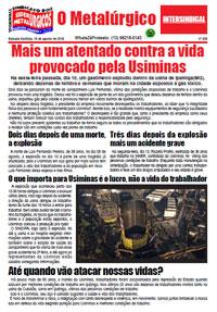 O Metalúrgico #530 (16/08/2018)