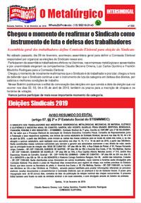 O Metalúrgico #550 (15/02/2019)