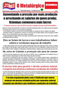 O Metalúrgico #551 (21/02/2019)