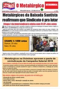 O Metalúrgico #555 (12/04/2019)
