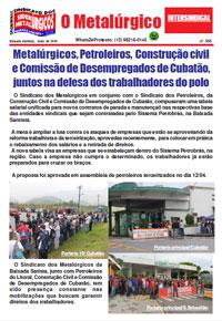 O Metalúrgico #556 (13/04/2019)
