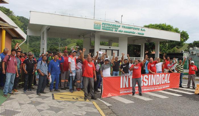 Metalúrgicos, Petroleiros, Construção civil e Comissão de Desempregados de Cubatão, juntos na defesa dos trabalhadores do polo
