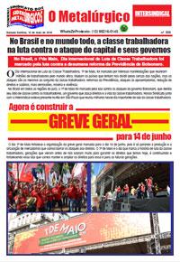 O Metalúrgico #559 (10/05/2019)