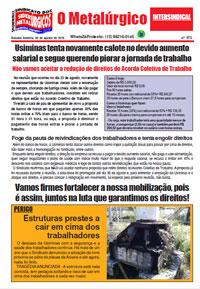 O Metalúrgico #572 (30/08/2019)