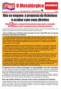 O Metalúrgico #573 (11/09/2019)