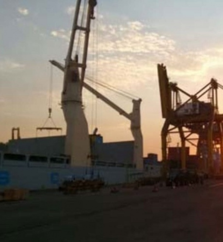 Usiminas: no porto, pressão para carregar bobinas gera insegurança