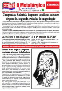 O Metalúrgico - Metalúrgicas #576 (15/10/2019)