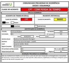 Após a cobrança do Sindicato, acidente com trabalhadora da Usimec foi registrado