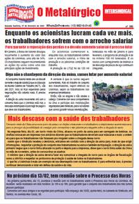O Metalúrgico #590 (07/02/2020)