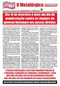 O Metalúrgico #591 (14/02/2020)