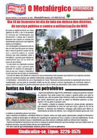 O Metalúrgico #593 (21/02/2020)