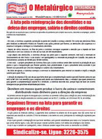 O Metalúrgico #601 (13/08/2020)