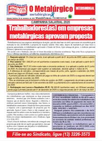 O Metalúrgico - Metalúrgicas #611 (06/11/2020)