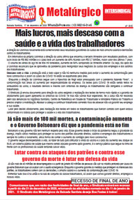 O Metalúrgico #615 (17/12/2020)