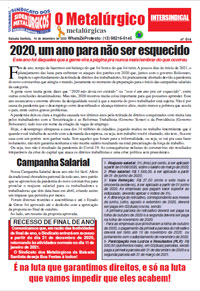 O Metalúrgico #614 (14/12/2020)